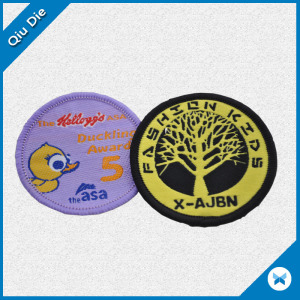 Circular Monder Embroidery Patch for Apparel/Textile Clothing