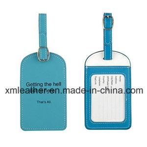 Leather Travel Suitcase Luggage Bag Tags for Baggage