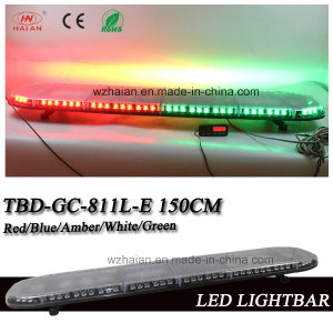59 Inch Red and Green SMD LED Safety Guard Warning Lightbars (TBD-GD-811L-E 150CM)