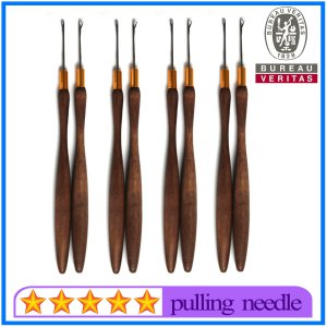 Wholesale Wooden Pulling Needles for Hair Extensions