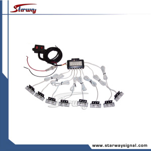 Car Warning Grille / Bumper LED Lights (LED289C-8)