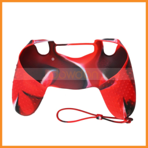 Cool Camouflage Soft Silicone Cover Case Skin for Playstation 4 Dualshock 4 Controller