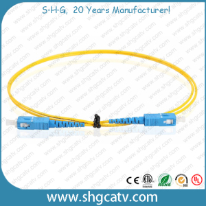 High Quality Sc/Upc Fiber Optical Patch Cord (SC/UPC-SC/UPC)
