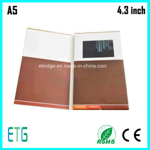 4.3 Inch Video Brochure, Video Card and Video Booklet