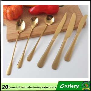 High Quality Stainless Steel Available in Various Color Cutlery
