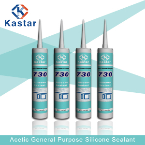 Good Cheap 300ml Silicone Acetic Cure Sealant (Kastar730)