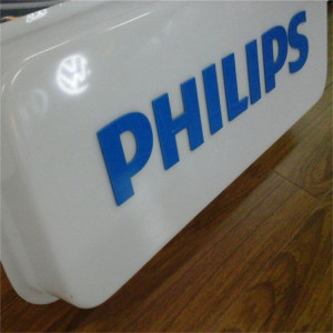 Acrylic Embossed Letters/Vacuum Forming Signage/Thermoforming Shop Sign Light Box