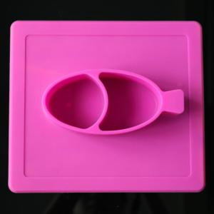 Eco-Friendly Elastomer Toddler Silicone Fruit Plate