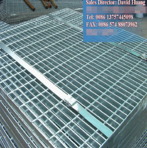 Galvanized Plain Steel Grating for City Construction Projects