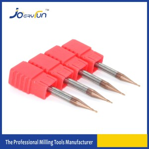 Solid Tungsten Carbide Spherial Micro Ball Nose Milling Cutter