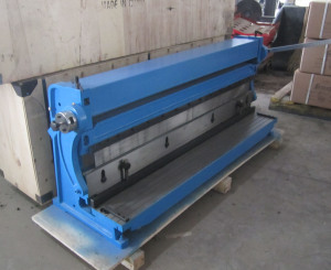 Sheet Metal Shear Brake Roll Machine