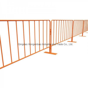Safety Powdercoated Crowd Control Barrier, Road Safety Fence