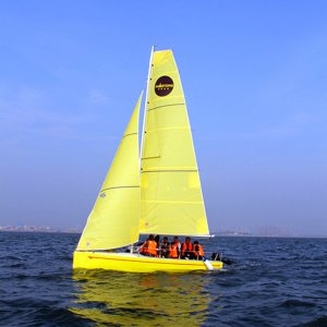 Sailing Yacht Cradle for Sailing Yacht School