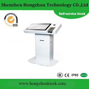Customized Special Shape Touch Screen LCD Display Kiosk with WiFi