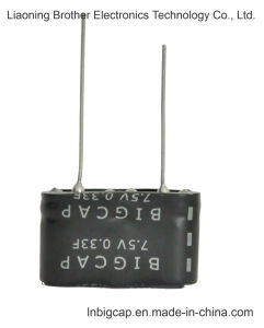 Combined High Voltage 7.5V 0.33f Farad Capacitor