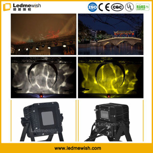 Customizable Outdoor 18W LED Waterwave Reflecting Effect Landscape Lights