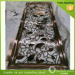 Top Quality Decorative Metal Outdoor Stainless Steel Screens Made in China