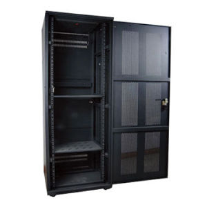 High Quality 22u Standard Cabinet with Glass Door