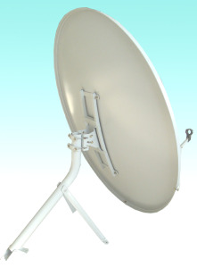 Ku Band150cm Offset Outdoor Satellite Dish TV Antenna