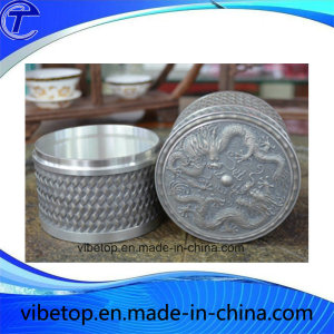 High Quality Customized Tin Tea Caddy
