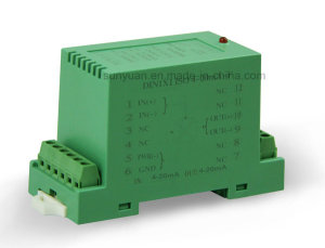 3-Channel Passive 4-20mA to Voltage Isolation Amplifier with DIN Rail-Mounting