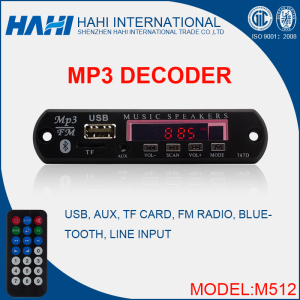 Lowest Price USB TF Card 5V/12V MP3 Decoder Board