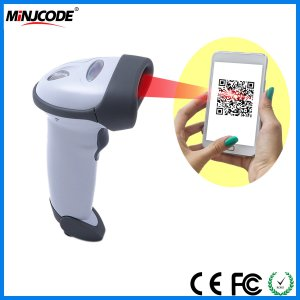 2D Handheld Barcode Scanner, Read Qr Codes on PC/iPhone/Cellphone, Mj2818