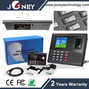 2000 Fingerprint Capacity Time Recording Attendance Device