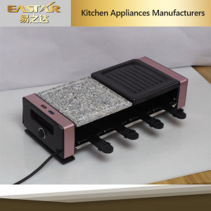 Raclette Grill Gr-1082 Ce RoHS Approved BBQ Grill