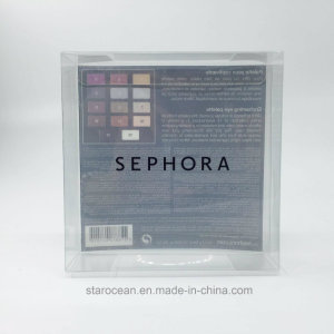 Clear Plastic Box Made by PVC for Sephora Cosmetics with UV Printing