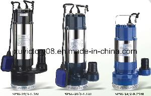 Stainless Steel Multistage Submersible Sewage Pump (SPS6-50-1.8)