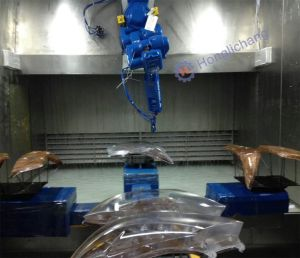 Turnkey Robot Automatic Painting Equipment for Car Spare Parts