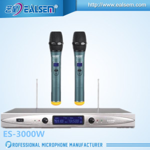 Dual VHF Wireless Mic. System Perfect for Karaoke, Meeting