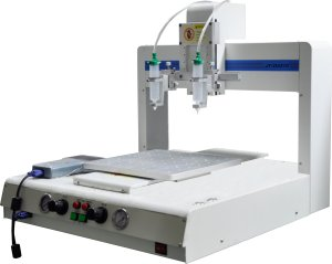 Automatic UV Glue Dispensing Machine Applied to Electronics Coating