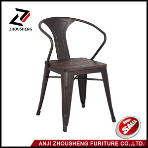 2016 Modern Restaurant Bar Furniture Dining Chair with Wood Seat