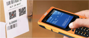 1d/2D Barcode Label Reading Scanner with Phone Call Function