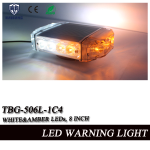 Dual-Color LED Mini Lightbar with Aluminum Chassis (TBG-506L-1-C)