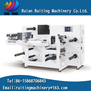 Rtma-330b Fully Automatic Label Inspecting Machine with Slitting System