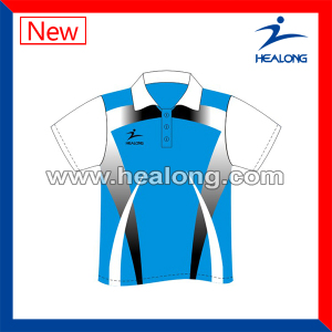Customized Sublimation Bowling Polo Wear with High Quality