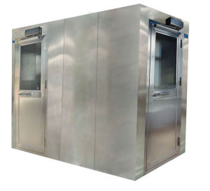 Automatic Blowing SUS Stainless Steel Air Shower for Medical Equipment