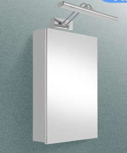 Stainless Steel Mirror Cabinet with LED Light