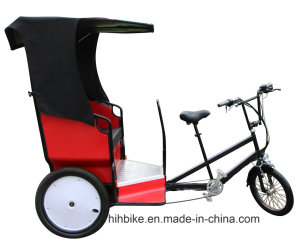 Taxi Outdoor Trike Service with 2 Seats