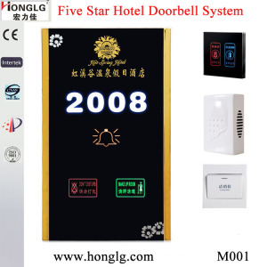 Hotel Doorbell with Touch Panel, Do Not Disturb, Dnd Doorbell System