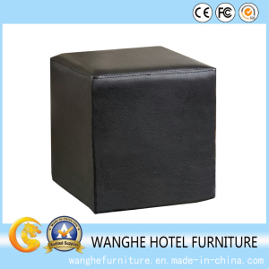 Hotel Furniture Project Modern Leather Little Sofa Dresser Stool