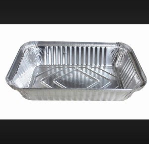 Safe and Easy Take Away Food Use Aluminum Foil Tray