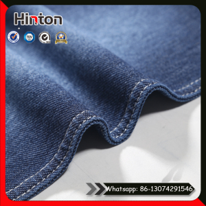 Factory Hot Sale Cotton Spandex Knitting Jean Fabric
