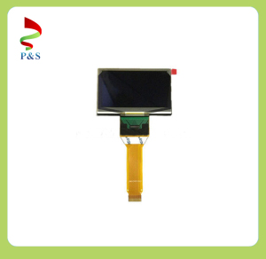 2.7 Inch Yellow Pm OLED Display with Resolution 128X64