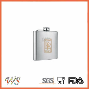 DSC_0113 Screen Print Liquor/Whisky Flask, Stainless Steel Hip Flask