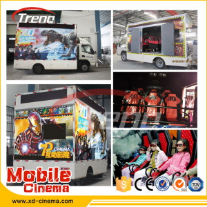 2014 Mobile 5D Cinema Cabin with Trailer