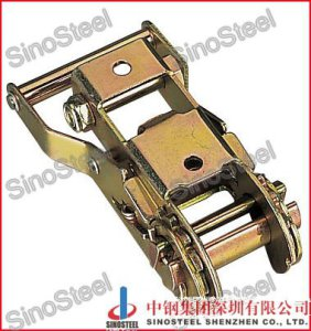 "1""-25mm Wide Handle Ratchet Buckle Lashing Strap Buckle"